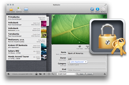 MyWalletpassword manager