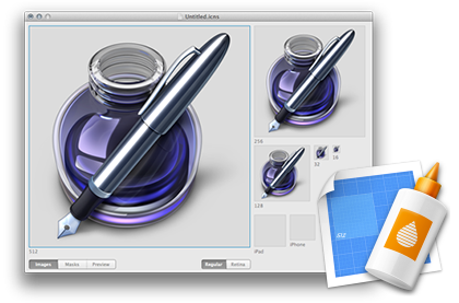 Icon ComposerXcode's missing tool